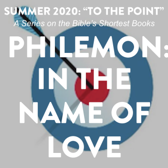 """HOME LITURGY August 9th 2020: """"In the Name of Love"""""""