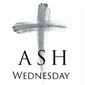 HOME LITURGY FEBRUARY 17th 2021: Ash Wednesday>